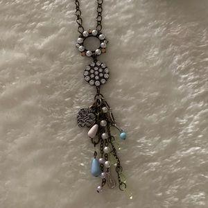 *2 for $15* Plunder Antique Gold Necklace